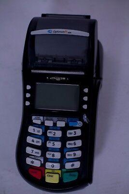 Hypercom Optimum M4230 Wireless Credit Card Debit Card Terminal Gprs