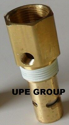 New All Brass Air Compressor In Tank Check Valve 34 Fnpt X 34 Mnpt Brass