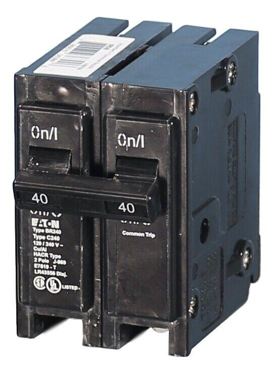 BR240 Eaton Plug-On Circuit Breaker