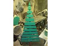 Bargain wooden Christmas tree garden decorations