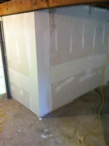 Insulation, Drywall and Taping at a fair price.