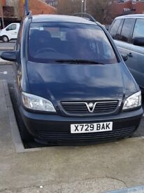 Used Vauxhal Zafira