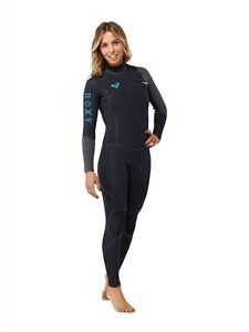 ROXY-CYPHER-HYDROLOCK-3-2-Fullsuit-women-039-s-6-12-14-new-NWT-Chest-Zip-wetsuit