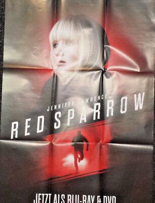 Filmposter zum DVD Blu-ray Film Red Sparrow A1