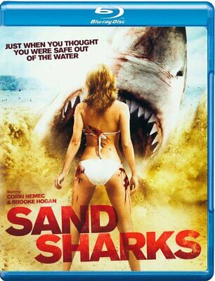 Sand Sharks (2011) IMPORT Blu-Ray BRAND NEW Free - Sand Shark Movie