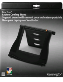 Kensington cooling stand for laptop