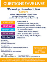Questions Save Lives: Medication Safety Community Forum