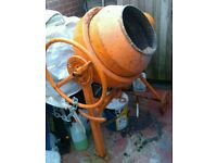 Spomasz Biatystok BS 125 Electric Cement Mixer