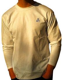 Men's The Rift Long Sleeve T-Shirt 100% Cotton