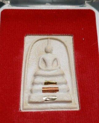 - THAI BUDDHIST AMULET IN TEMPLE BOX