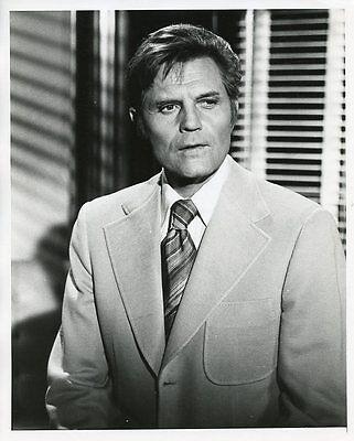 JACK LORD PORTRAIT HAWAII FIVE-O ORIGINAL 1976 CBS TV PHOTO