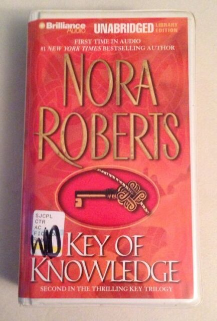 Key of Knowledge Vol. 2 by Nora Roberts (2003, Cassette, Unabridged) Adult Fict.