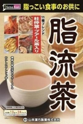 Yamamoto Chinese medicine pharmaceutical fat flow tea 10gX24H From Japan