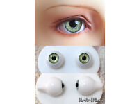 1//3 1//4 1//6 bjd 16mm dark green color high quality glass doll eyes dollfie TS-08