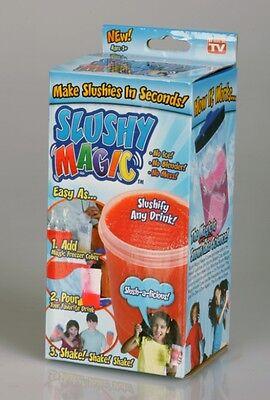 Slushy Magic Frozen Drink Kit As Seen On Tv Blizzie Freezer Products Llc