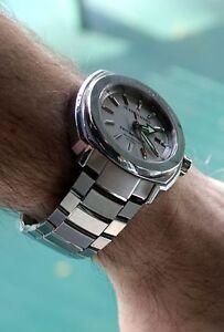 NIB Jean Richard Terrascope Automatic Watch on Bracelet, MSRP: $3500 (25+ Pics)