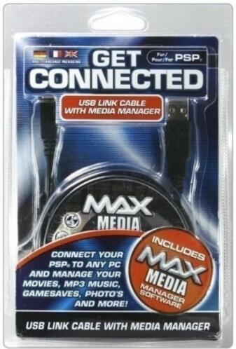 USB Link Cable with Media Manager (Datel) (Sony PSP)