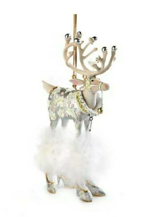 New Patience Brewster Moonbeam Vixen Reindeer LARGE Ornament Dash Away