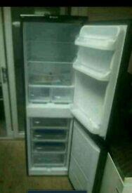 Hotpoint iced diamond fridge freezer gloss black