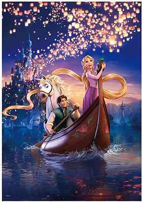 "Jigsaw Puzzles 1000 Pieces [Glow] ""Rapunzel's dream"" / Disney"