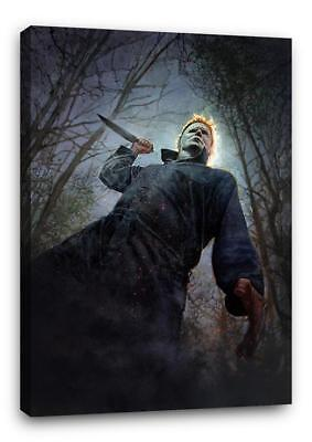 Michael Myers Halloween Pics (HALLOWEEN MICHAEL MYERS CANVAS Wall Art Poster Pic Print Photo