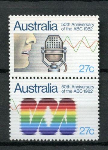 Australia 1982 SG#847-8 50th Anniv Of ABC MNH Set #A18526