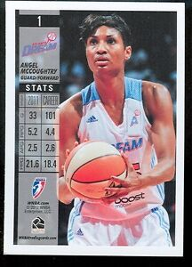 WNBA ATLANTA DREAM BORN IN BALTIMORE MD LOUISVILLE ANGEL MCCOUGHTRY 2012 CARD