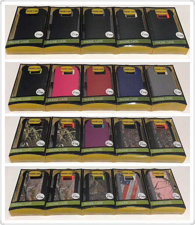 For Samsung Galaxy S7 EDGE Defender Rugged Case Cover