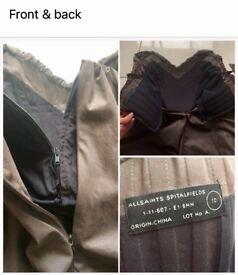 All saints 'Jessamine' corset dress size 10