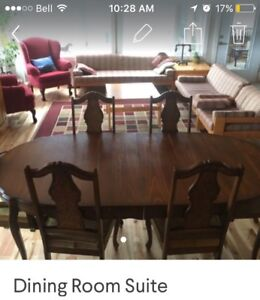 Seriously, make us an offer! Dining Suite