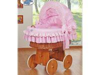 My sweet baby pink crib