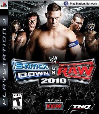 WWE Smackdown Vs Raw 2010 PS3 Great Condition Fast Shipping segunda mano  Embacar hacia Argentina