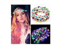 LED Flower Headband-10 pcs
