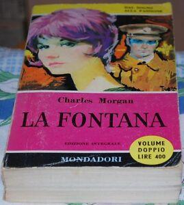 MORGAN-Charles-LA-FONTANA-1A-Il-Pavone-Mondadori-1961