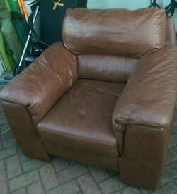 Leather Comfy Chair