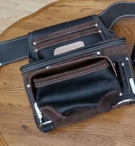 AWP HP Pro Oil-Tanned Large Tool Belt and Pouch