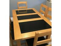 Dining table and Sideboard (chairs not included)