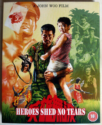 HEROES SHED NO TEARS - 1986 - BLU-RAY - 88 FILMS - JOHN WOO - SLIPCOVER