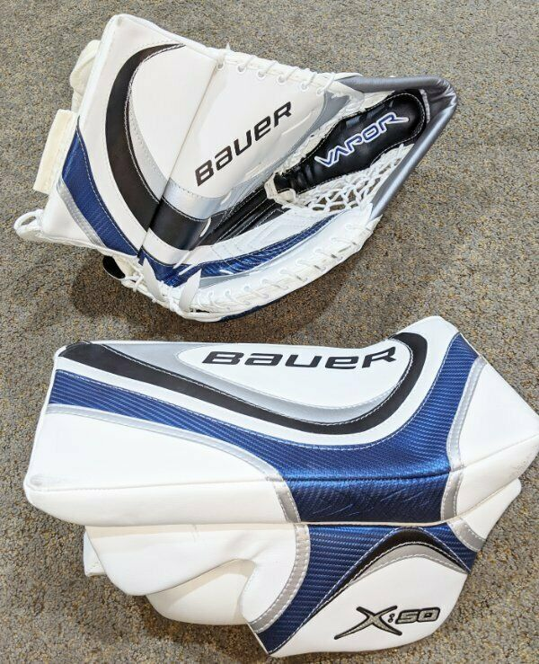 New with Tags - Bauer Vapor X:50 Goalie Gloves - LH Catching & RH Blocker