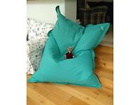 'MADE' beanbag seat - turquoise