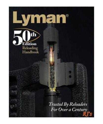 Lyman 50th Edition Reloading Manual Handbook - Softcover  9816051  FREE SHIP!!
