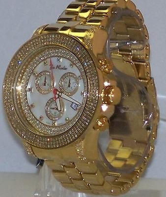 - New Authentic Mens Joe Rodeo PILOT G.p. 3.15 CT.aprx.real diamond watch. JRPL3
