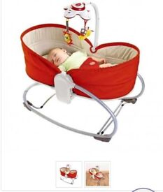 Free baby changing unit + bouncy chair