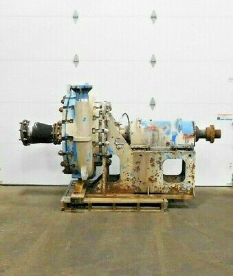 Mo-2975 Goulds 5500 Severe Duty Slurry Pump. B4 Frame. 4x6-29. 770 Gpm. 340 Hd.