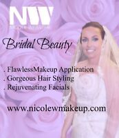 Wedding makeup and hair services