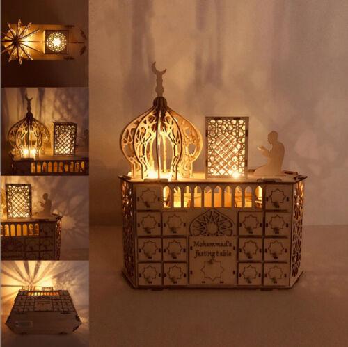 LED Ramadan Kalender Eid Mubarak Ramadan Muslim Islamisch Adventskalender