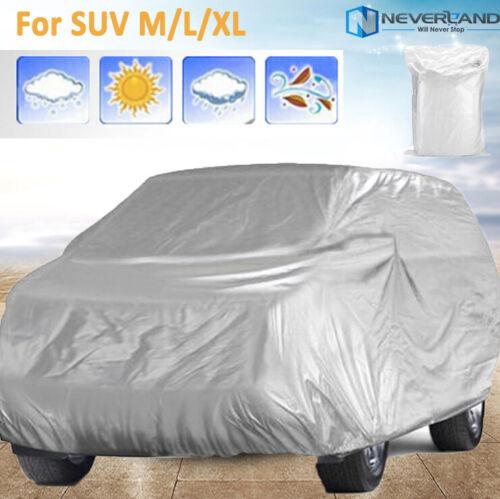 M-XL SUV Autoabdeckung Autogarage Vollgarage Ganzgarage Abdeckplane Schutzhülle