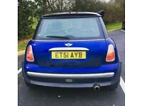 Mini one 68k Low Milage 6Month mot left with no advisory
