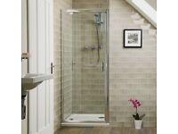 Aqualine™ 6mm 800 Pivot Shower Door NEW