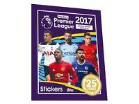 Premier League 2017 stickers